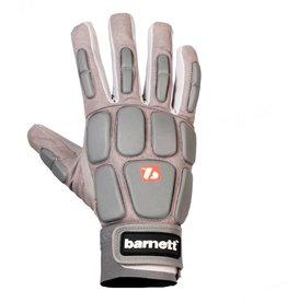 barnett FKG-03 High level linebacker football gloves, LB,RB,TE, grey