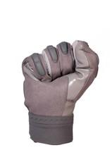 FKG-03 High level linebacker football gloves, LB,RB,TE, grey