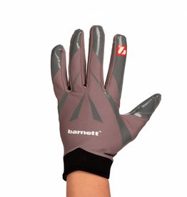 barnett FRG-03 The best receiver football gloves, RE,DB,RB, grey