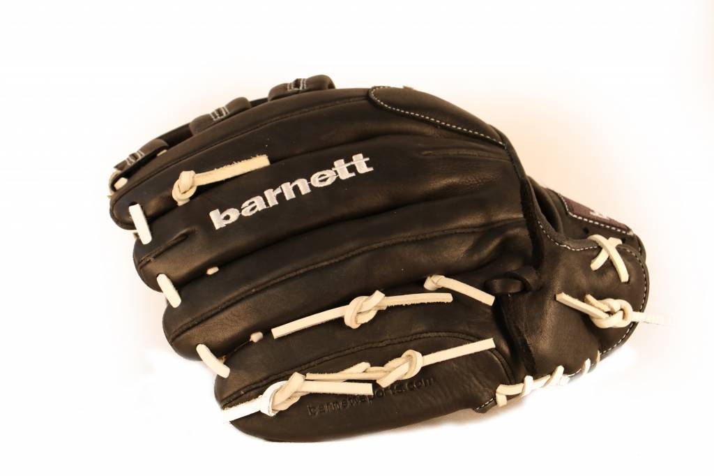 "barnett GL-130 Competition baseball glove, genuine leather, outfield 13"", Brown"