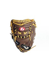 "GL-202 Basebal glove (catcher) for competition, size 34 ""(inch), genuine leather"