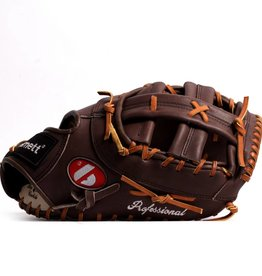 FL-301 Professional first base glove, full grain leather, brown