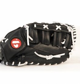 barnett GL-301 reg competition 1er baser baseball glove, genuine leather, adult, black