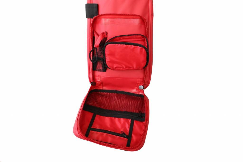 barnett SMS-05 Biathlon Rifle Bag, Size Senior, Red