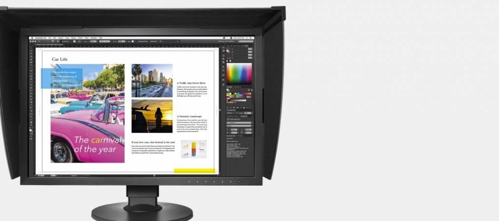 Monitoren voor fotobewerking