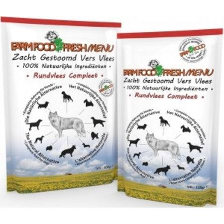 Farmfood Fresh Rundvlees Compleet 125 gr
