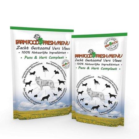 Farmfood Fresh Menu Pens en Hart Compleet 125 gr