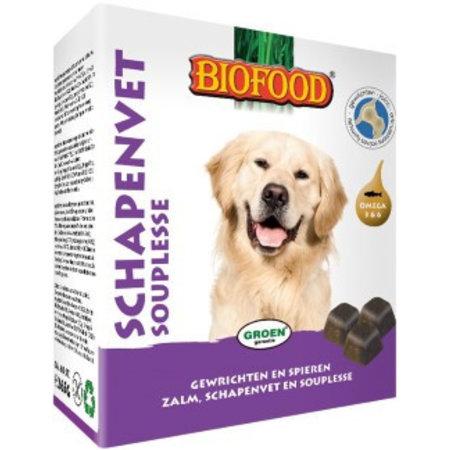 Biofood Bonbons Schapenvet Souplesse 40 st