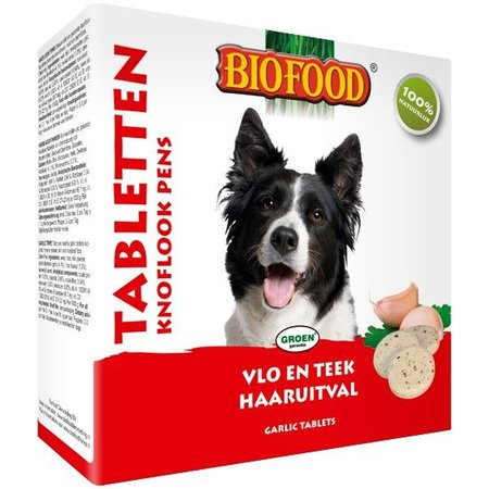 Biofood Hondensnoepjes met Pens Anti-Vlo 55 st