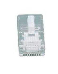 MODULAIRE PLUG  8/8 (RJ45) 5 STUKS TEL-0080