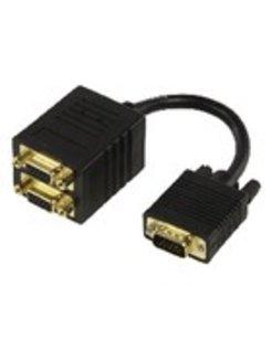 SPLIT.VGA M -> 2X VGA F CABLE-560