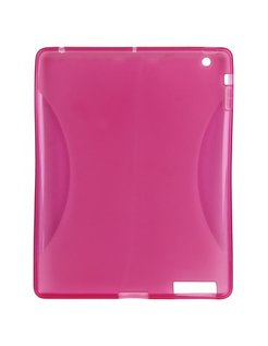 TPU Case Durable Pink voor Apple iPad2 EV81672