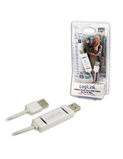 LogiLink Driverless Easy Suite MAC-PC Link Kabel USB 2.0 [PC0062]