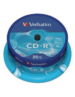 Verbatim 52x Spindle (25) VER7213 43432