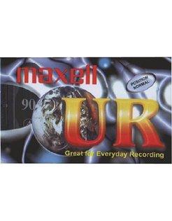 5x Maxell Audio-Kassette 90 Minuten MAX UR90P5