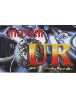 5x Maxell Audio Cassette 90 Minutes MAX UR90P5