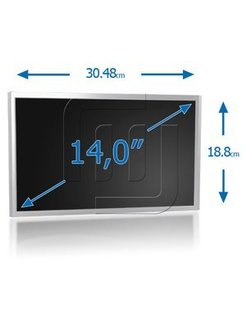 LCD Scherm 14.0inch 1366x768 WXGAHD Glossy Wide (LED)
