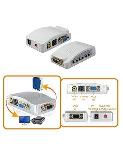 VGA naar Video Converter (S-Video/RCA) [VGC-921]
