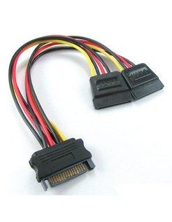 SATA Y-kabel, voedingsplitter [SATAPWR003]