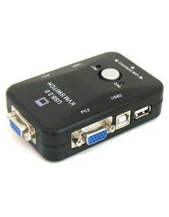 KVM Switch 2 poort USB zonder kabels [MT201]