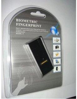 USB Biometric Fingerprint Reader Finger Lock Security Password Laptop Computer [CSP-USB-FL]