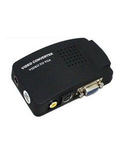 AV (CVBS) naar VGA signaalomvormer, HX702