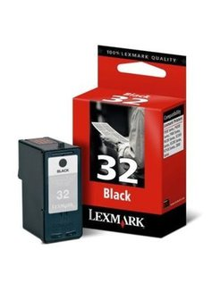 Lexmark 32 Zwart 18CX032E