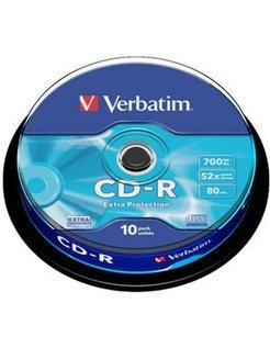 Verbatim 52x Spindle (10) VER7212 43437