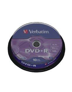 DVD+R Verbatim 16x 4.7GB Spindle (10) VER7422