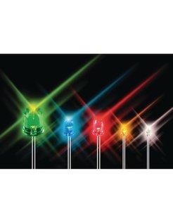 LOS LED LAMPJE 5MM - BLAUW L-7113QBC-G