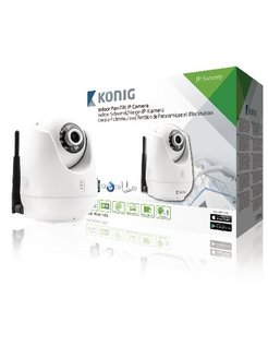 Konig Indoor Pan-Tilt IP-Camera SAS-IPCAM110W
