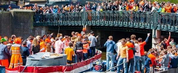 Koningsdag - Oranje confetti