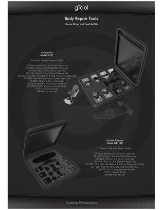 gTool gTool icorner Pro Pack - Volledig icorner Range - IC-01