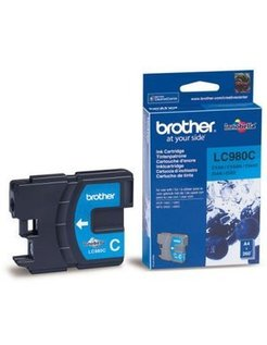 Brother LC-980C Cyaan (Origineel)