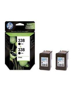 HP 338 Zwart (2 Pack) (Origineel)