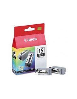 Canon BCI-15 Zwart (2-pack)