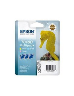 Epson T048B40 Kleur Y/LC/LM (3-pack)
