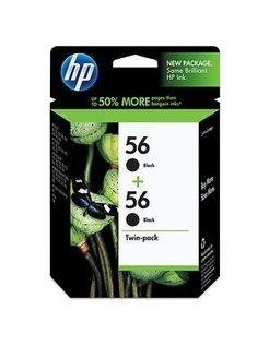 HP 56 Zwart (2 Pack) (Origineel)