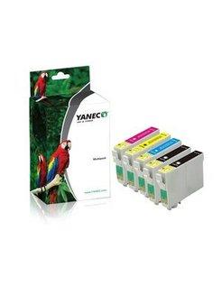 Yanec T0715/T0895 Zwart en Kleur (5-Pack) (Epson)