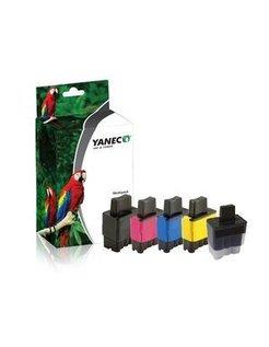 Yanec LC-900 Zwart en Kleur (5-Pak) (Brother)