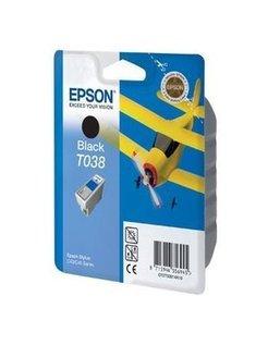 Epson T038 Mat Zwart (Origineel)