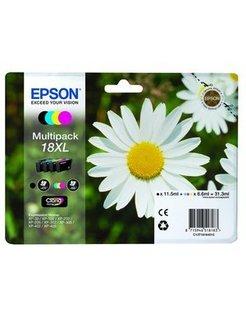 Epson 18XL/T1816 Zwart en Kleur (4-Pak) (Origineel)