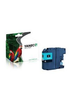 Yanec LC-125XLC Cyaan (Brother)