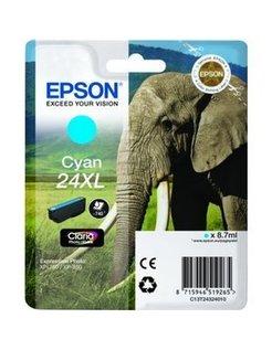 Epson 24XL/T2432 Cyaan (origineel)