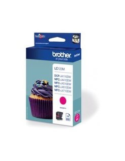 Brother LC-123M Magenta (origineel)