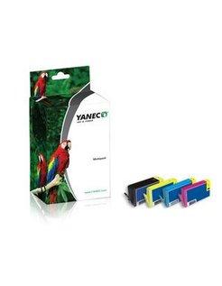 Yanec 364XL Zwart en Kleur (4-Pack) (HP)