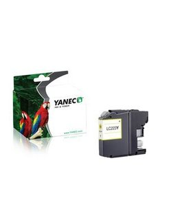 Yanec LC-223Y Geel (Brother)
