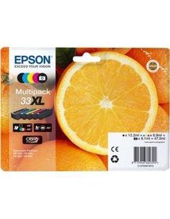 Epson 33XL/T3357 Zwart + Kleur (Origineel)