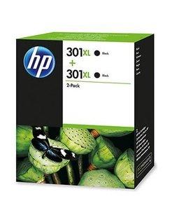 HP 301 XL Zwart 2-Pack (origineel)