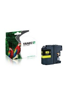 Yanec LC-123Y Geel (Brother)